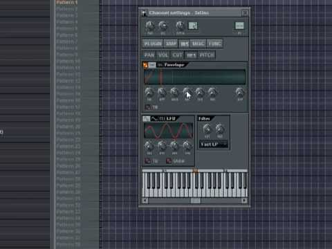 Creating a Bassline using FL Studio By Amazinj