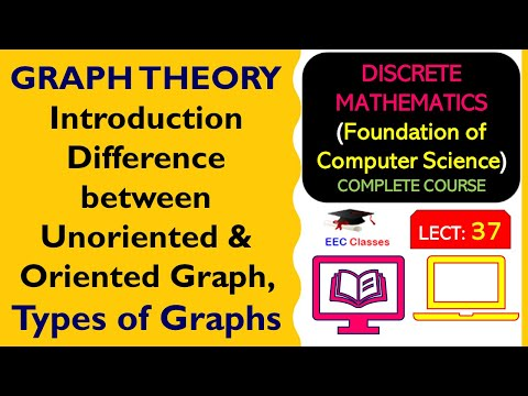 GRAPH THEORY Introduction – Difference between Un-Oriented & Oriented Graph, Types of Graphs(Hindi)