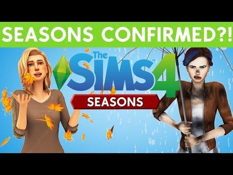 SIMS 4 SEASONS CONFIRMED?!