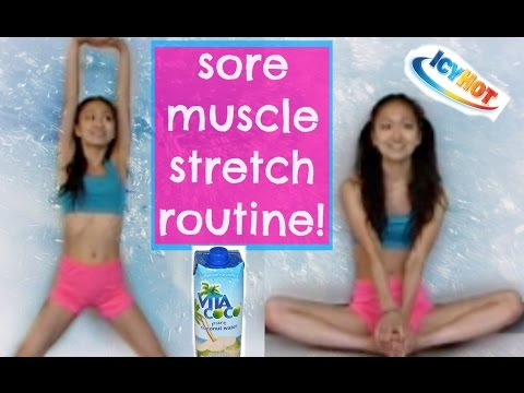 Sore Muscle Stretch Routine!