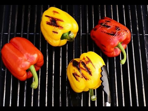 How to Roast Peppers on the BBQ