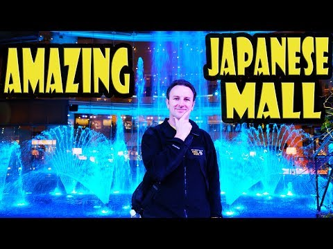 Canal City in Fukuoka Japan - Japanese Shopping Mall Tour