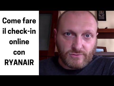 Come fare il check-in online con Ryanair