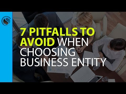 7 Pitfalls to Avoid When Choosing Your Business Entity and Business Name