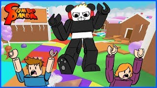 Roblox Eat or Die Adventure! Giant Combo knocks out everybody!
