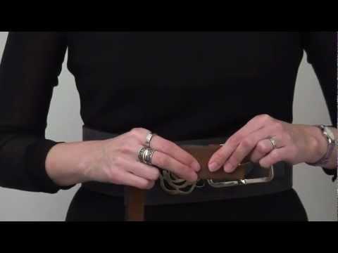 How to change a belt buckle - interchangeable belts