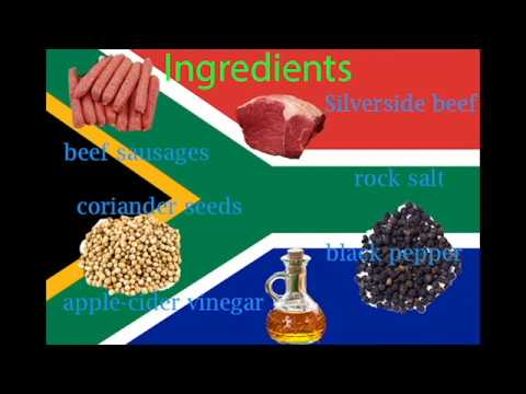 How to make South African  biltong......(easy)