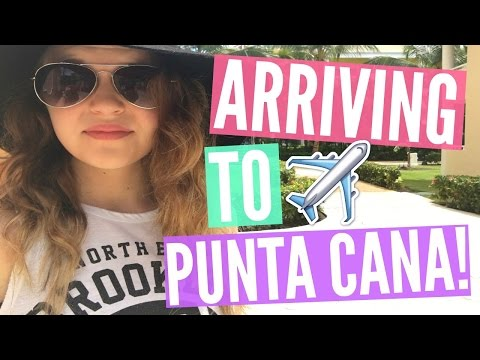 PLANE RIDE TO PUNTA CANA!! (DAY 1 PART 1/2)   SPRING BREAK 2016