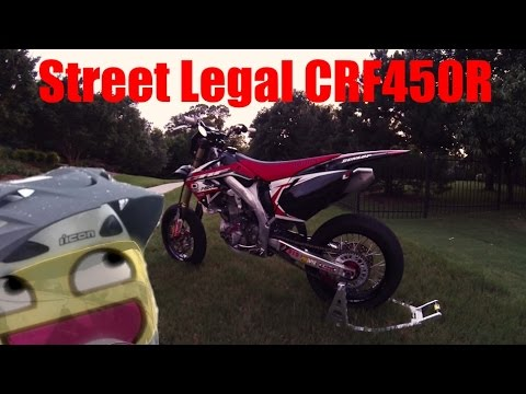 How to Street Legal a Supermoto!