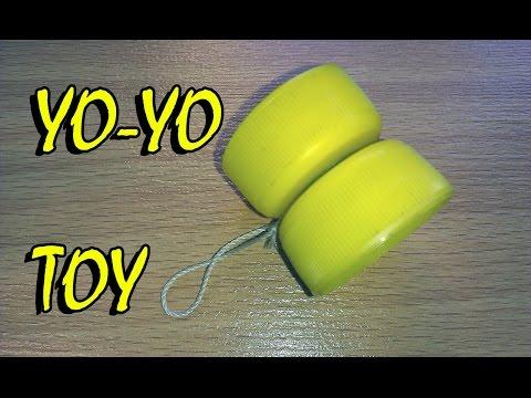 How to make a Yo-Yo - easy way Yo-Yo From Plastic Covers