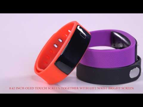 Fitness Tracker Wireless Smart Activity Trackers Wristband Blood Pressure Heart Rate Monitor