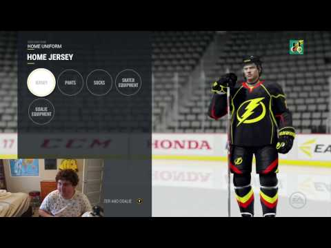 HOW TO MAKE COOL NHL 17 JERSEYS!