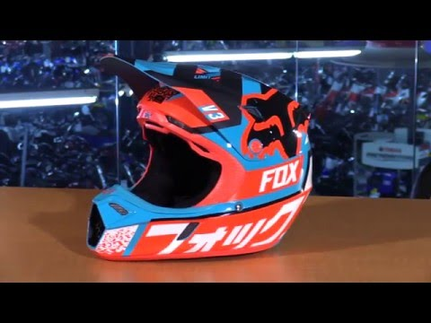 Fox Racing V3 Youth Motorcycle Helmet Review