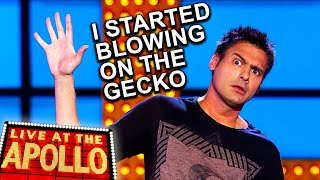 Trying To Sleep With A Gecko In Your Room | Danny Bhoy | Live at the Apollo | BBC Comedy Greats