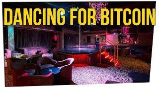 Vegas Dancers Now Accept Bitcoin via QR Codes ft. Gina Darling