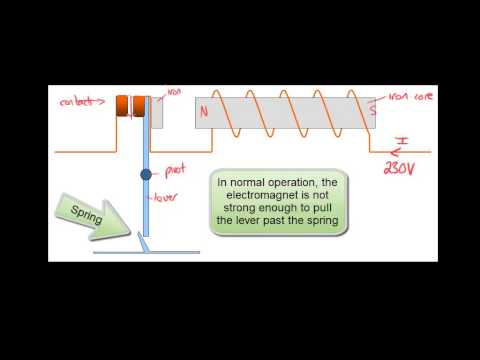 Electricity and Magnetism - Circuit Breakers - Reed Switches - GCSE Physics