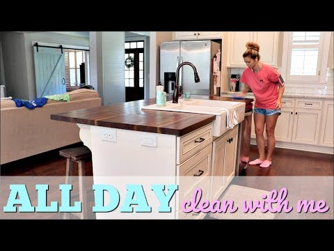 ULTIMATE ALL DAY CLEAN WITH ME // CLEAN WITH ME 2018 // WHOLE HOUSE