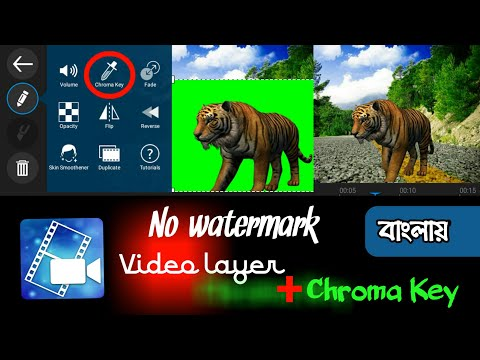 powerdirector Chroma key and video layer option added officially| Download powerdirector chroma key
