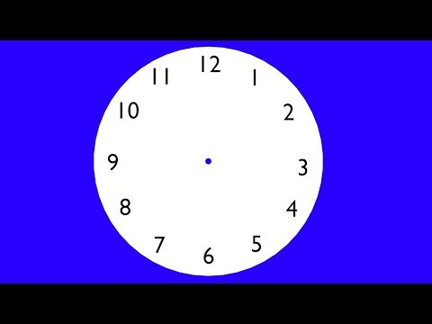 Blender Beginners Tutorial:  Create A Simple 3d Clock Face.