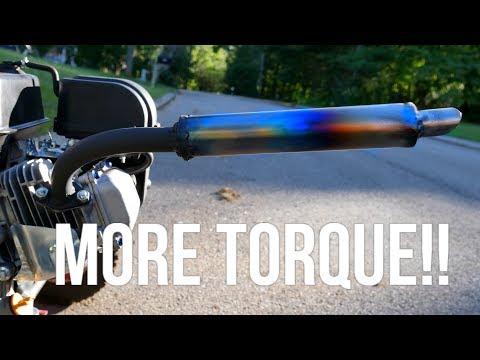 How to Make a Custom Exhaust!! [4K] Predator 212cc / Any Engine!! (Under 10$)