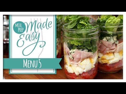 Healthy Meal Prep | Menu 5