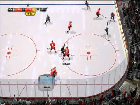 NHL 11 Gameplay Commentary