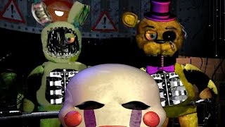 five nights at fredbears family diner v0 3 jumpscares gameplay