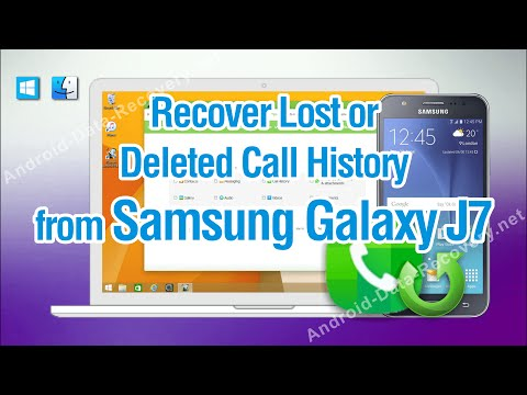 How to Recover Lost or Deleted Call History from Samsung Galaxy J7