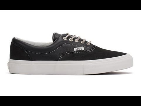 f182f8def5 Shoe Review  Vans Vault Era LX  Nubuck Leather  (Black) 2014