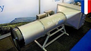 Clean air machine: Dutch inventors unveil giant vacuum that sucks smog out of the air - TomoNews