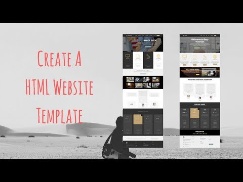 How To Make A HTML Website | Create HTML Templates Without Coding