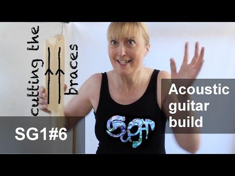 SuGar SG1 acoustic guitar build part 6: Preparing parallel grain quarter sawn bracing stock