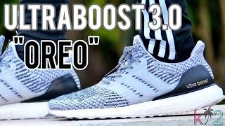 ultra boost 3.0 oreo on feet