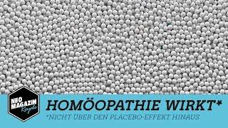 Homöopathie wirkt* | NEO MAGAZIN ROYALE mit Jan Böhmermann - ZDFneo