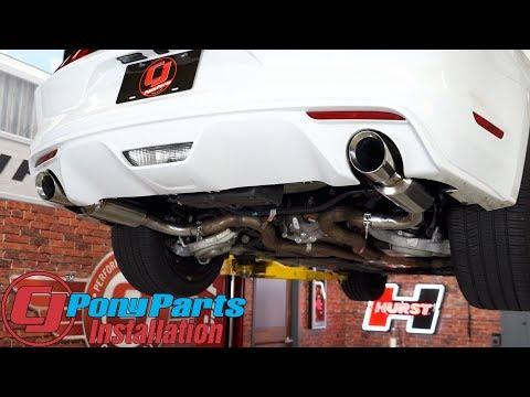 2015-2017 Mustang GT ACCELATEC Axle-Back Exhaust 2-1/2