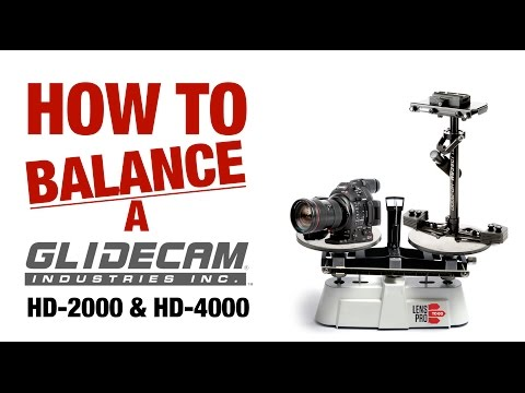 How to Balance a Glidecam HD-2000 or HD-4000