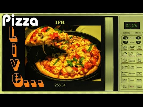 How to make pizza in any IFB microwave Live...