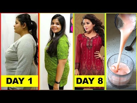Tremendous Weight Loss In 8 Days || No Exercise || High Metabolism - Muskaan Hamad