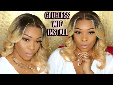 Watch Me Lay This Blonde Full Lace Wig Install | Glueless No Tap No Gel Application | OmgQueenHair