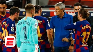 Is Quique Setien to blame for Barcelona's 'lethargic' effort against Espanyol? | ESPN FC