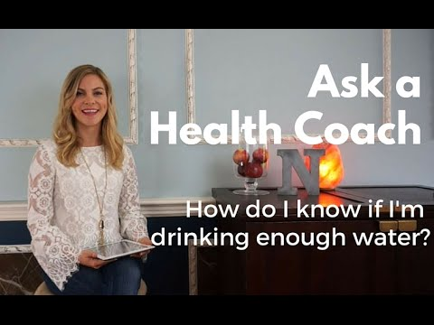 How do I Know if I'm Drinking Enough Water? Ask a Health Coach - Ask Alex #1