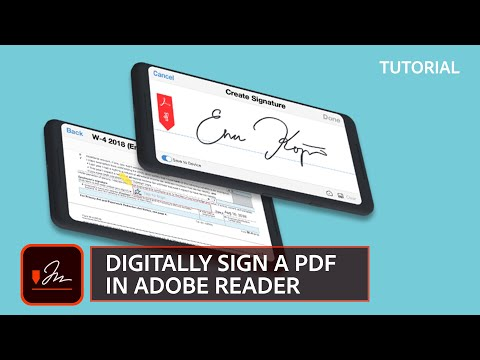 How to Digitally Sign a document with Adobe Reader
