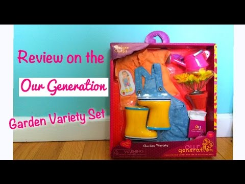 Opening And Review Of The Our Generation Garden Variety Set