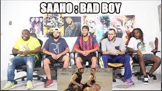Saaho: Bad Boy Song | Prabhas, Jacqueline Fernandez | Badshah, Neeti Mohan REACTION