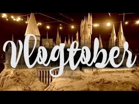 VLOGTOBER / Harry Potter Studio Tour / Days 27 & 28