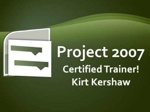 Project 2007 Overview and Basics Training Video
