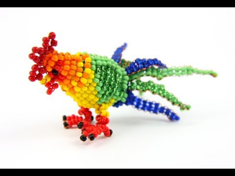 How To Make Beaded Animals - beaded animals DIY
