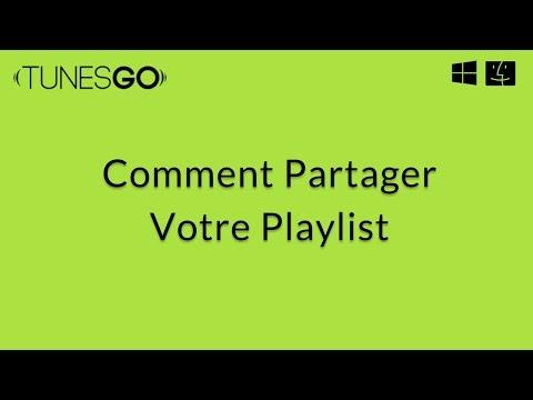 Wondershare TunesGo: Partager votre playlist