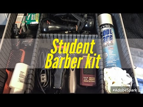 Becoming A Master Barber | Student Barber Kit