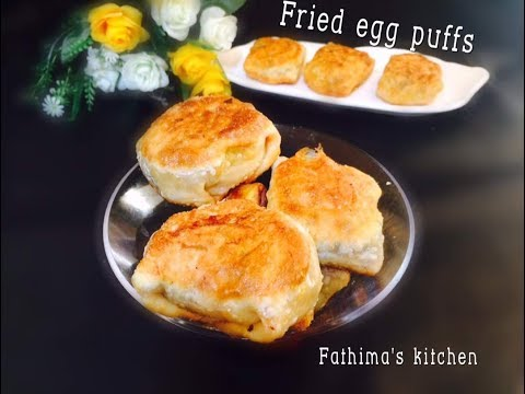 FRIED EGG PUFFS EASY RECIPE WITHOUT OVEN